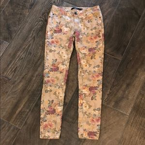 Awesome Floral Jeans